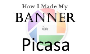 Banner in Picasa