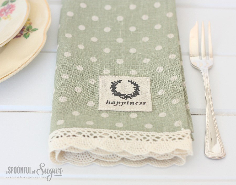 Make your own cloth napkin