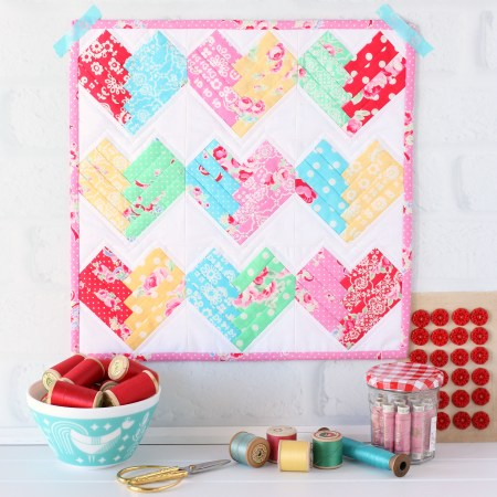 Heart of the Home Mini Quilt