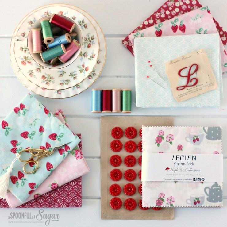 High Tea by Jera Brandvig for Lecien Fabrics