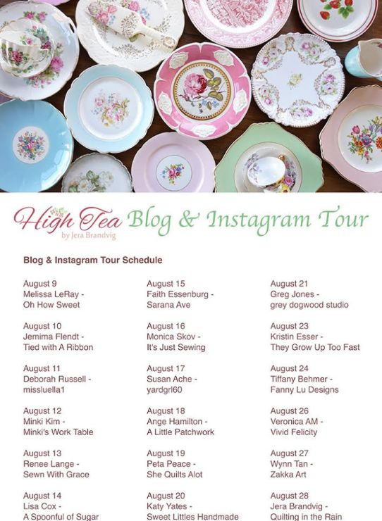 High Tea Blog Tour