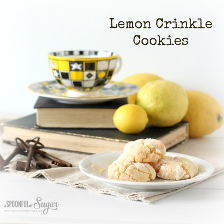 Lemon Crinkle Cookies 2