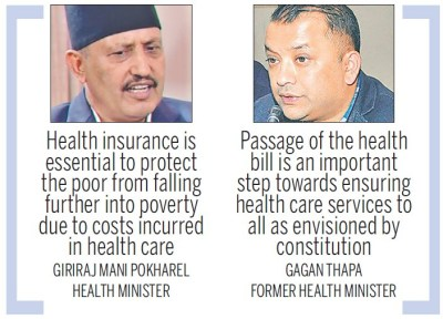 House nod to landmark bill to ensure universal health care - National - The Kathmandu Post