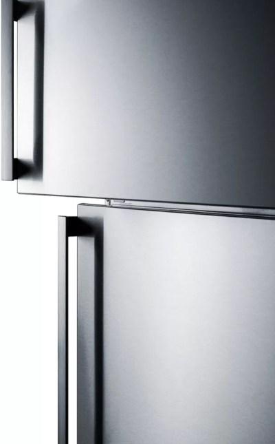 Summit FF1512SSIM 28 Inch Counter Depth Top-Freezer ...