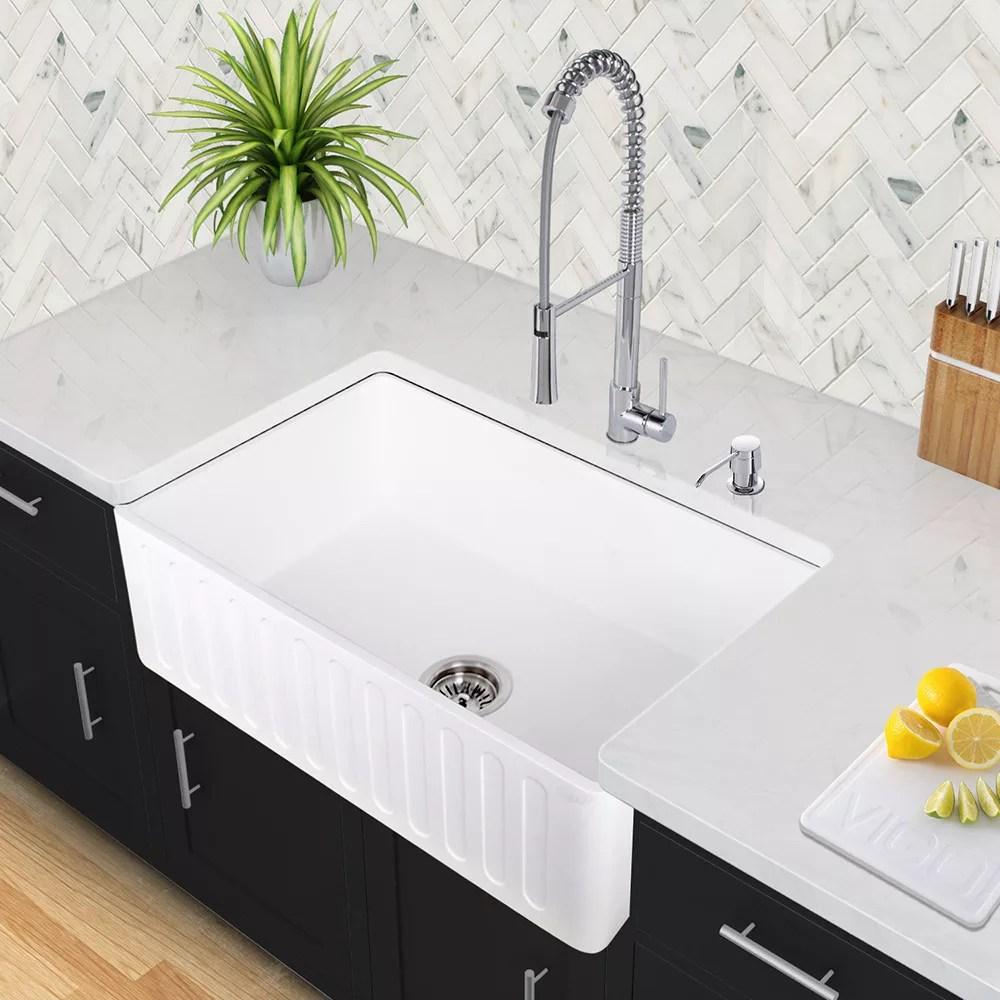 VGRACS 36 kitchen sink Vigo Industries Kitchen Sink Collection VGRACS Design Ideas