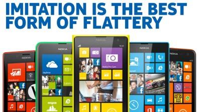 Nokia vs. iPhone 5C
