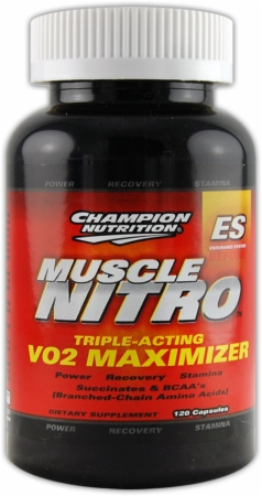 Champion Muscle Nitro - 120 Capsules