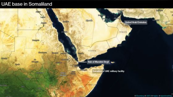 Image result for U.A.E. Military Base in Breakaway Somaliland to Open by June