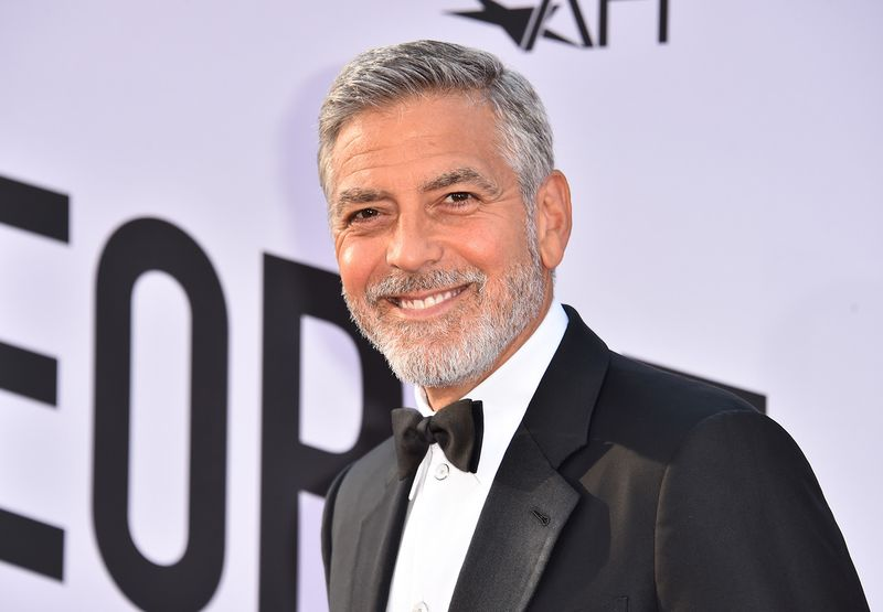 George Clooney  Fine  After Motorbike Crash in Italy   Bloomberg George Clooney