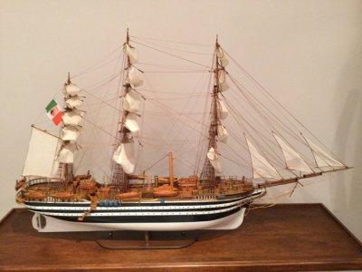 Model ship Amerigo Vespucci 1931 - Catawiki