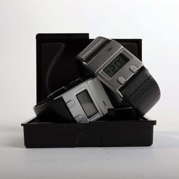 Braun's Iconic LCD Watch Reborn
