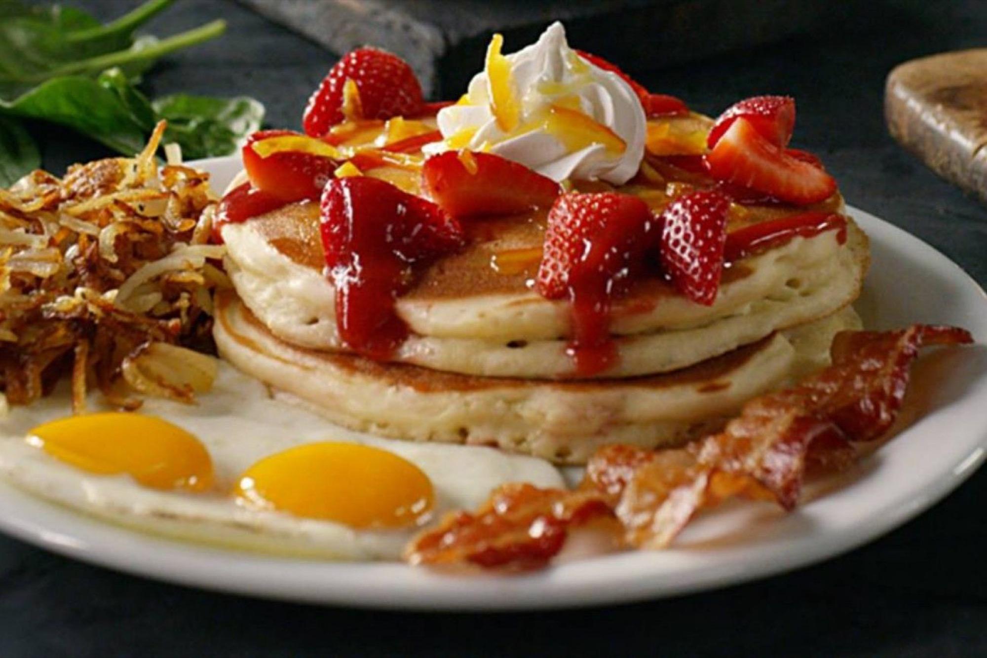 Manly While Ihob Makes Se Franchises Still Focus On Breakfast Slam Breakfast Birthday Slam Breakfast At Denny S nice food Grand Slam Breakfast