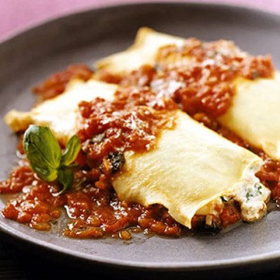 Manicotti recipe | Epicurious.com