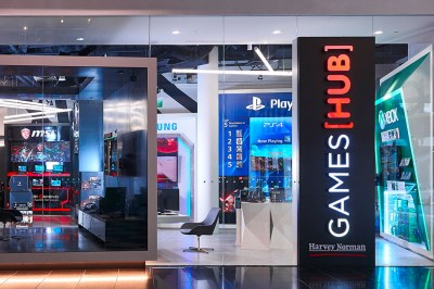 In pictures: Harvey Norman Games Hub, a premium game store ...