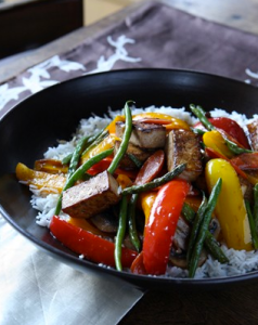 Sauteed Tofu Vegetable Stir Fry