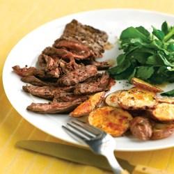 Famed Crispy Garlic Potatoes Sides Steak Reddit Sides Tuna Steak Skirt Steak nice food Best Sides For Steak