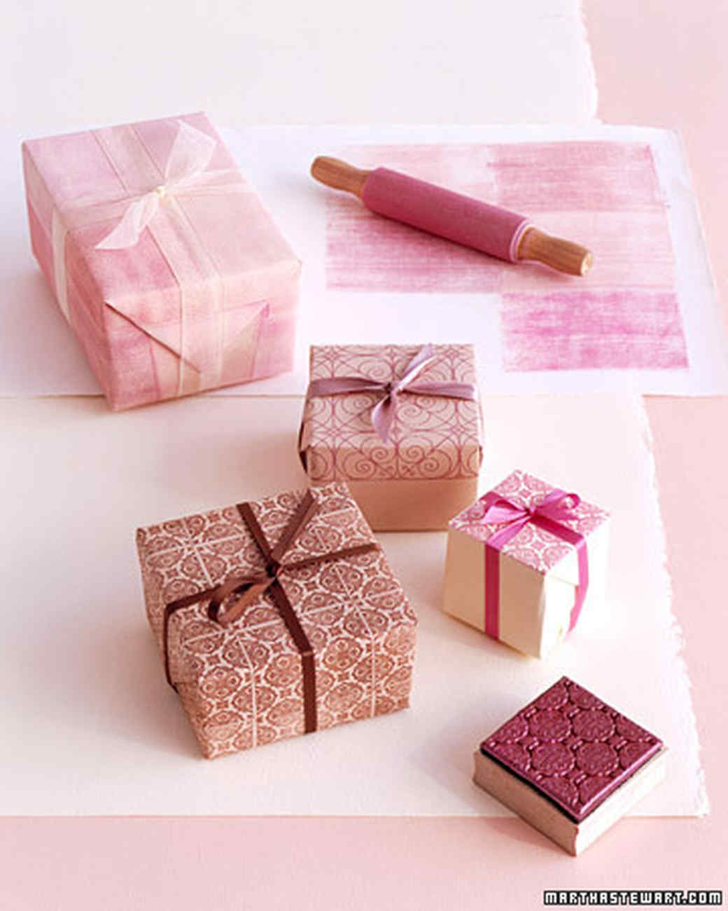 Soulful Stamped Gift Wrap Ideas Martha Stewart Gift Packaging Mooresboro Nc Gift Packaging North Carolina gifts Creative Gift Packaging