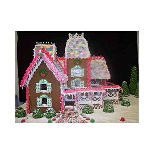 Medium Crop Of Gingerbread House Decorations