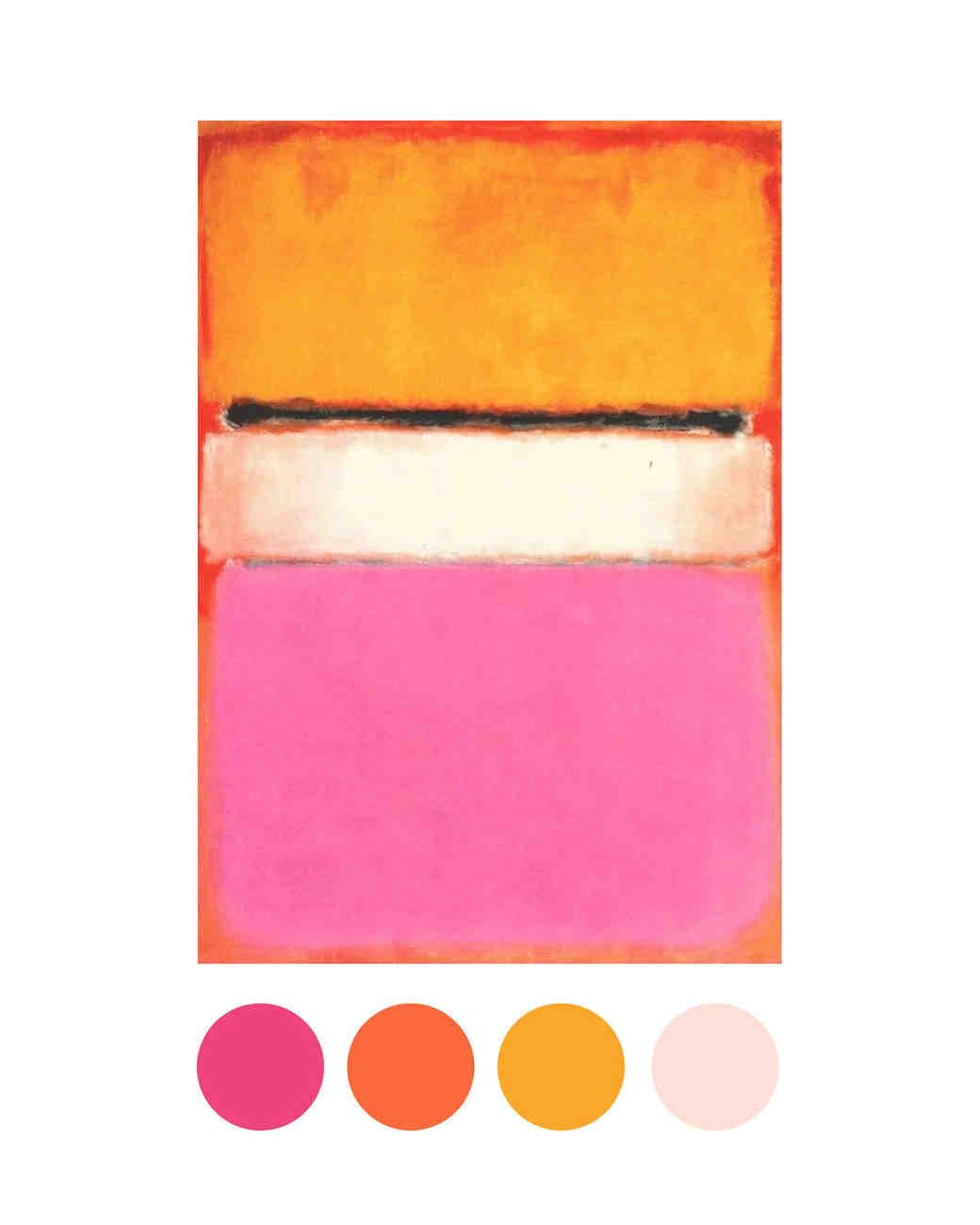 Congenial Citrus Shades Wedding Color Palettes Inspired By Art Martha Stewart G Color Palette Names G Color Palette Warframe inspiration Gold Color Palette