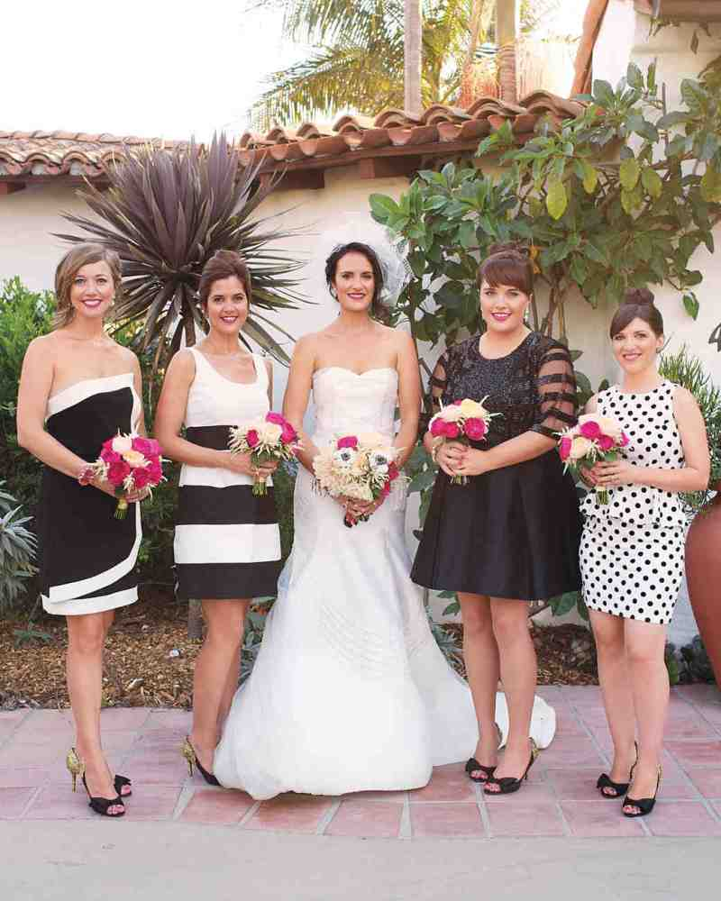 Large Of Mismatched Bridesmaid Dresses