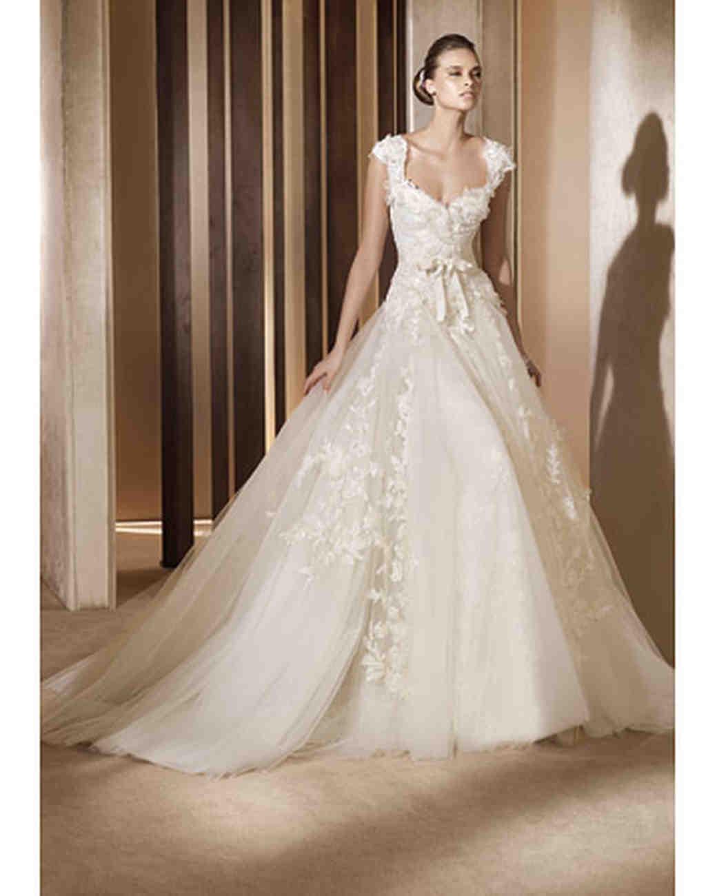 elie saab fall collection elie saab wedding dress Ball Gown
