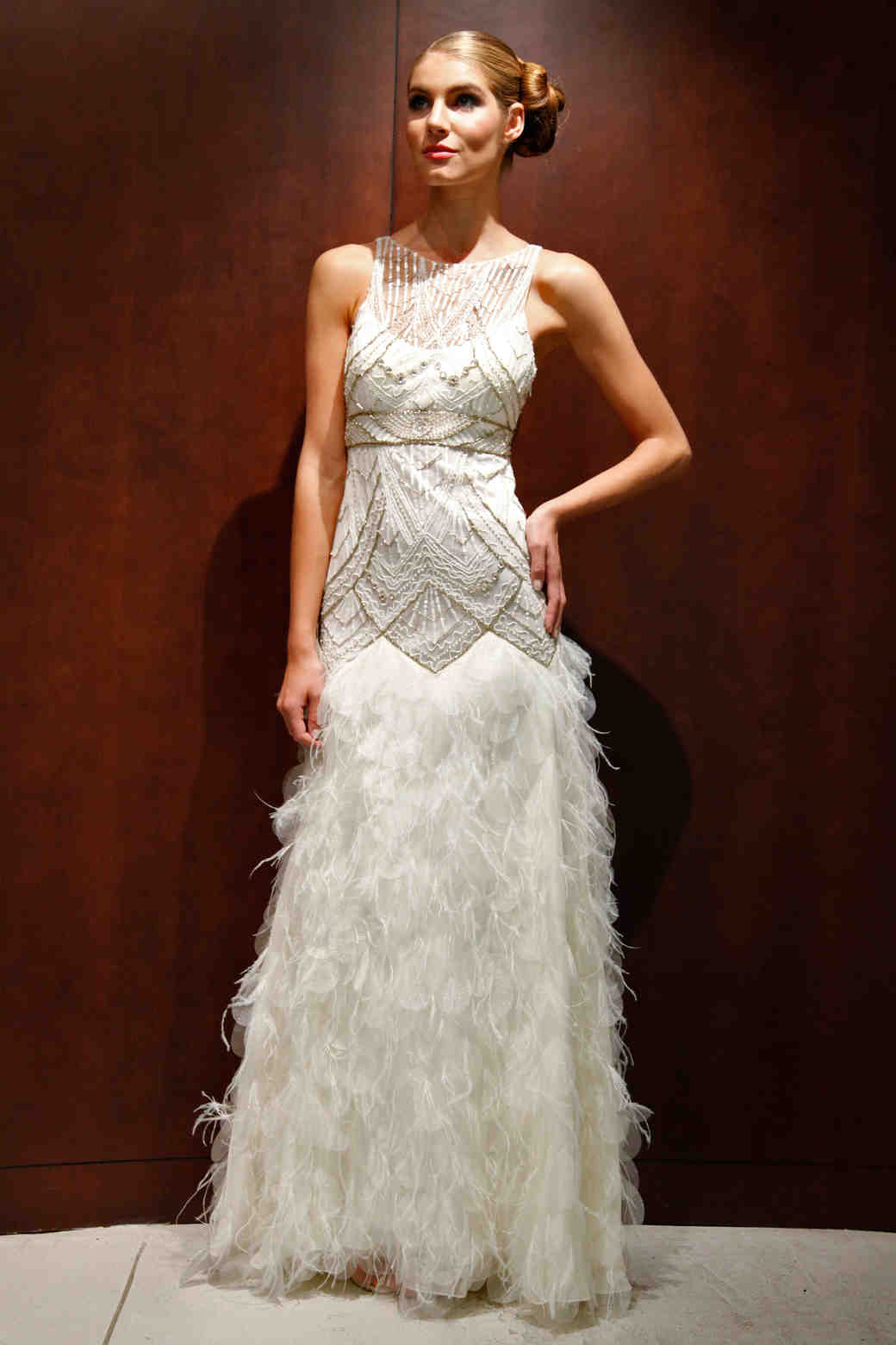 Glamorous Old Hollywood-Style Wedding Dresses, Fall 2012 ...