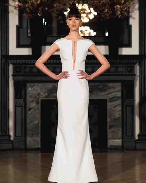 Medium Of Sheath Wedding Dresses