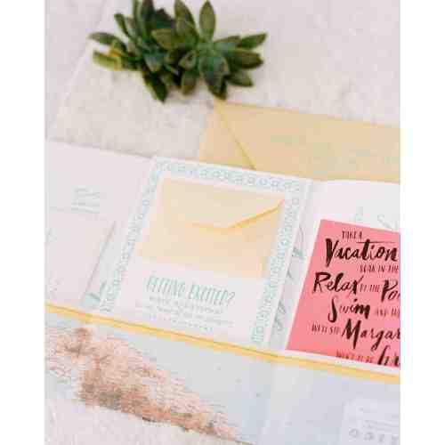 Medium Crop Of Beach Wedding Invitations