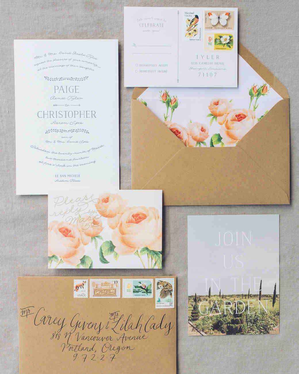 best spring wedding invitations wedding invitation suites