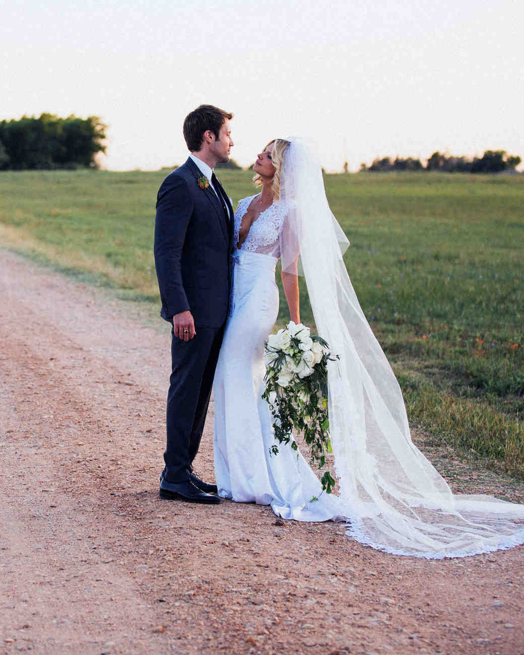 texas prairie rachel ashwell shabby chic wedding leah michael laura ashley wedding dresses The Fashions