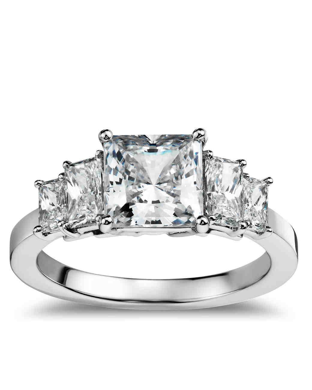 princess cut diamond engagement rings wedding ring princess cut Blue Nile Princess Cut Engagement Ring