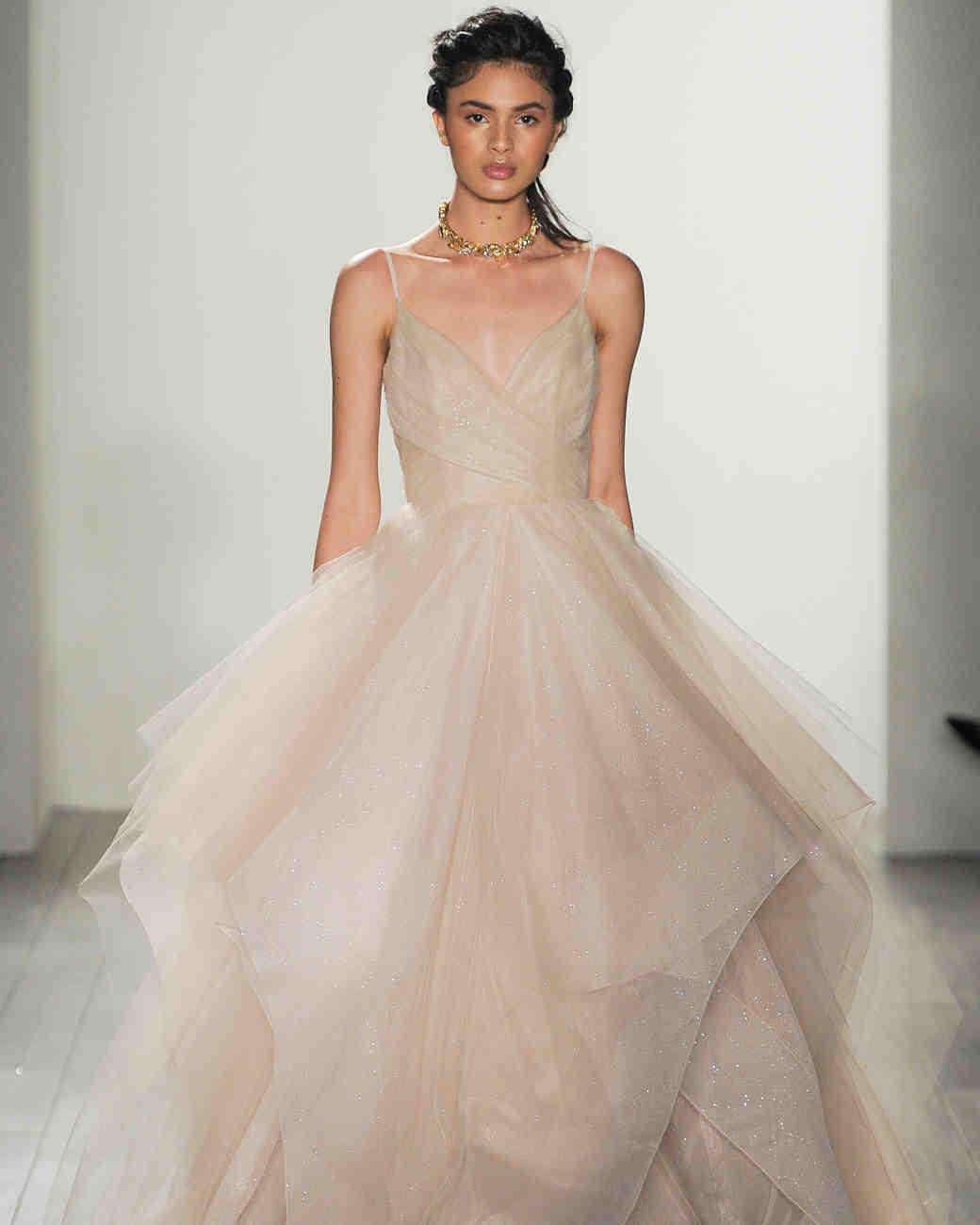 hayley paige wedding dresses fall hayley paige wedding dresses Hayley Paige Fall Wedding Dress Collection Martha Stewart Weddings