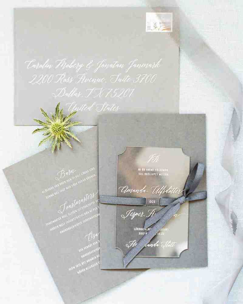 Particular Grey Wedding Invitations Unexpected Winter Wedding Invitations Martha Stewart Weddings Photo Wedding Invitations Uk Photo Wedding Invitations Templates Free