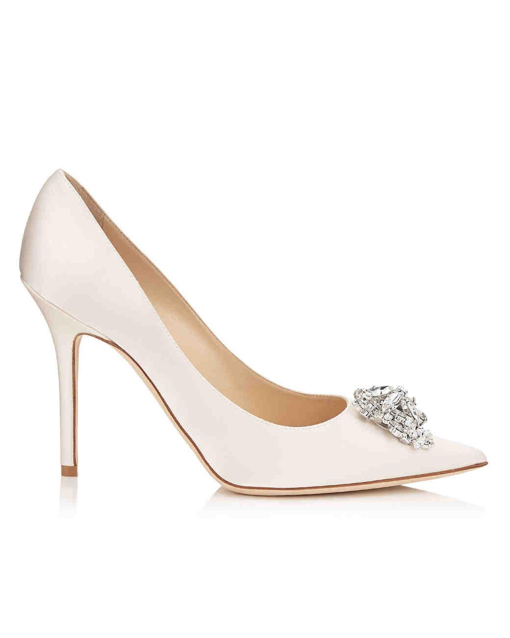 jimmy choo wedding shoes Bridal shoe Jimmy choo cinderella bridal shoes