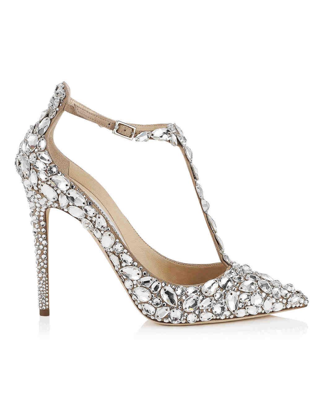 closed toe wedding shoes winter jimmy choo wedding shoes Crystal Covered Wedding Shoes Jimmy Choo