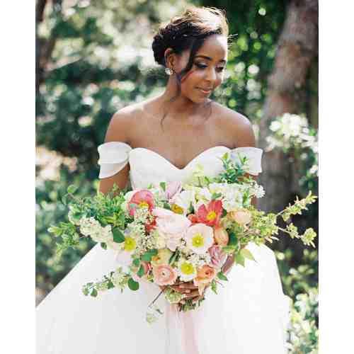 Medium Crop Of Off Shoulder Wedding Dress