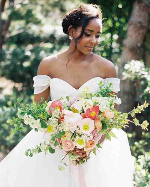 Medium Of Off Shoulder Wedding Dress
