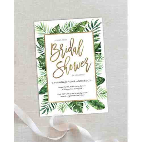 Medium Crop Of Bridal Shower Invitations
