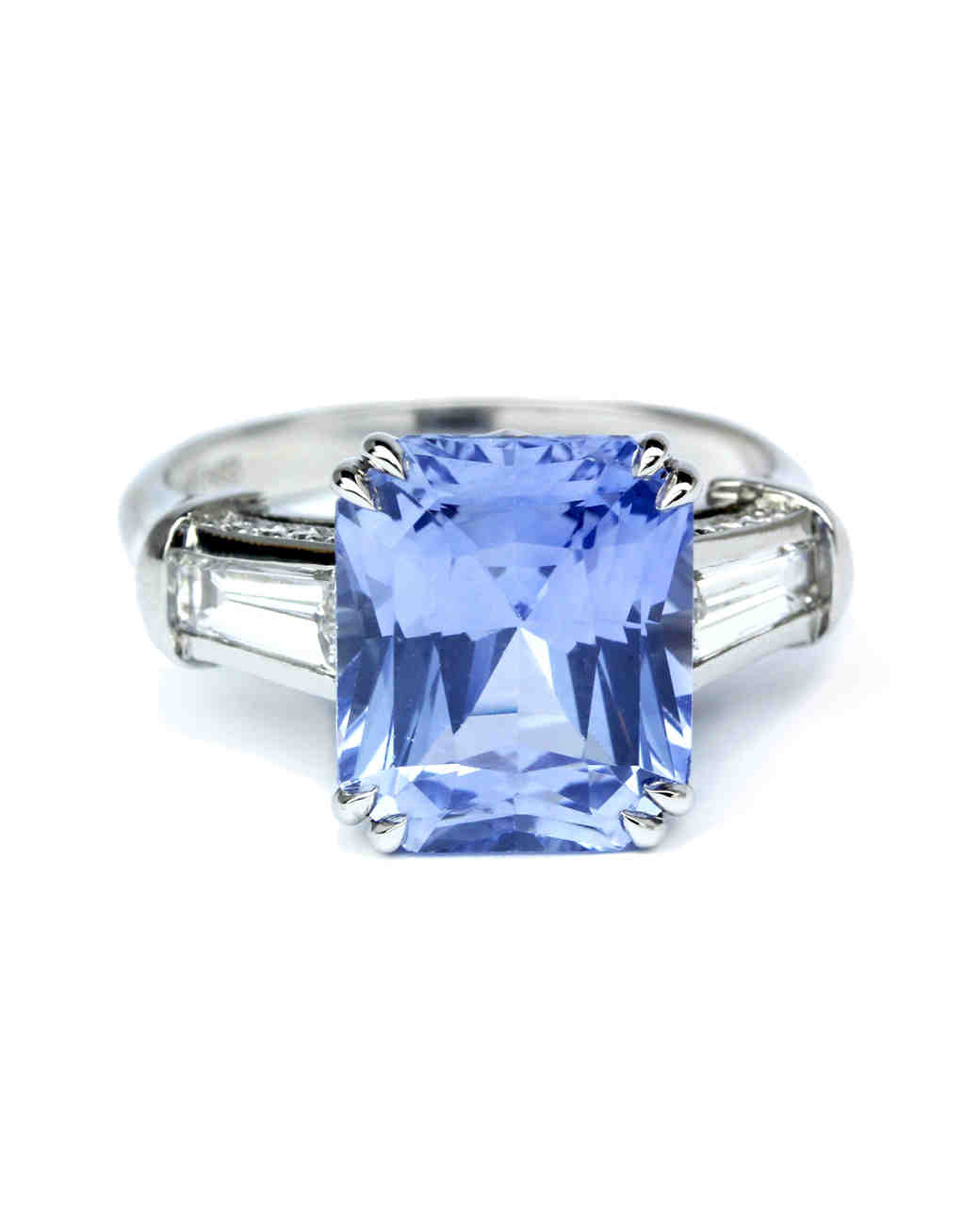 colored engagement rings sapphire wedding rings Sky Blue Sapphire Engagement Ring