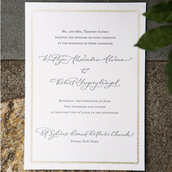 Addressing Common Wedding Invitation Wording Conundrums ...