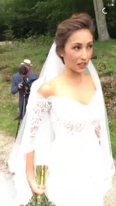 IN PHOTOS: Solenn Heussaff's beautiful wedding dress