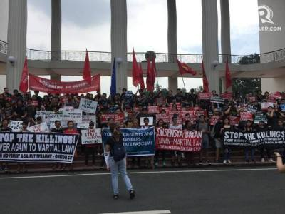 Martial Law anniversary protests: Millennials own the fight