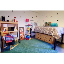 Calmly Dorm Rooms Should Be But Word Ways To Upgrade Your Dorm Room This Semester Teen Vogue Dorm Room Ideas Dorm Room Ideas Diy bedroom Dorm Room Idea