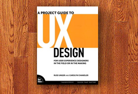 Book cover: A Project Guide to UX