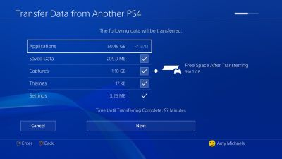 PS4 Pro: how to transfer data from your old PS4 or SSD to the new console - VG247