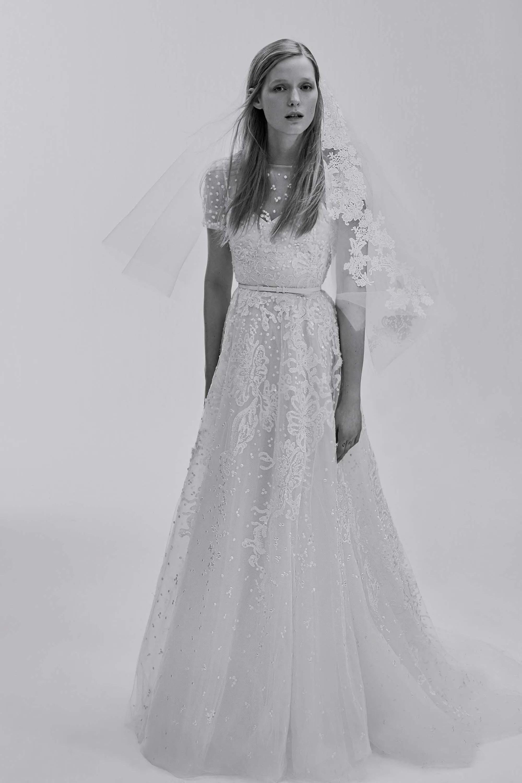elie saab elie saab wedding dress