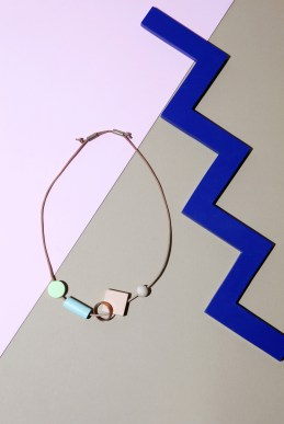 Bloc Necklace by Ladies & Gentlemen Studio | Yellowtrace.