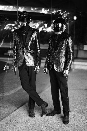Daft Punk at John Lautner's Goldstein Residence in LA | Yellowtrace.