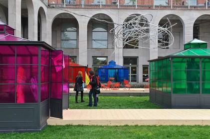 Unopiù in Wonderland by Ferruccio Laviani at Triennale di Milano during Salone del Mobile 2013 | Photo by Nick Hughes for Yellowtrace.