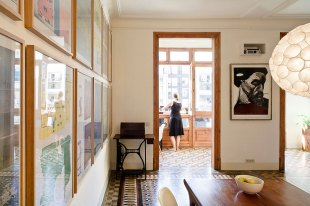 Eixample Apartment by Bach arquitectes in Barcelona, Spain | Yellowtrace.